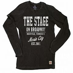 The Stage Men's Long Sleeve - Black
